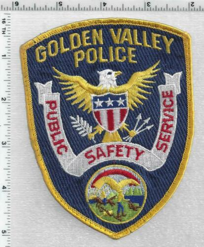 Golden Valley Police (Minnesota) 1st Issue Uniform Take-Off Shoulder patch