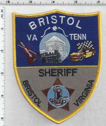Bristol Sheriff  (Virginia) 1st Issue Shoulder Patch