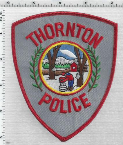 Thornton Police (New Hampshire) 1st Issue Shoulder Patch