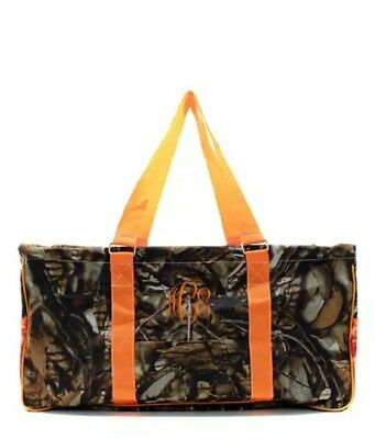 NEW LARGE UTILITY TOTE like 31 gift grocery tote teacher bag Free Monogram