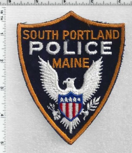 South Portland Police (Maine) 2nd Issue Shoulder Patch