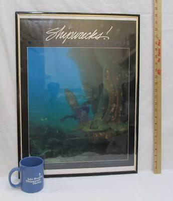 Isle Royale National Park Framed Poster & Coffee Cup Mug Lot 2 Minnesota MN 1987
