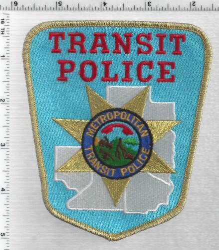 Minneapolis Metropolitan Transit Police (Minnesota) 2nd Issue Shoulder Patch