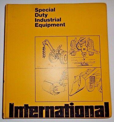 Ih International Industrial Tractorloaderpay Loggerforkliftmore Sales Manual