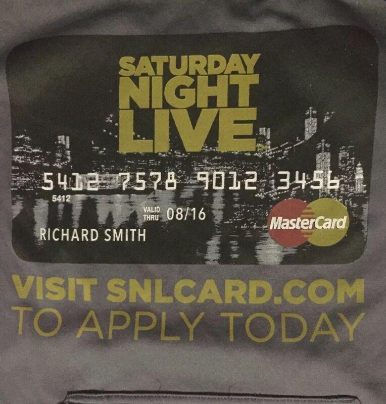 Saturday Night Live SNL Mastercard Credit Card Promo Elavate Sport Hoodie RARE