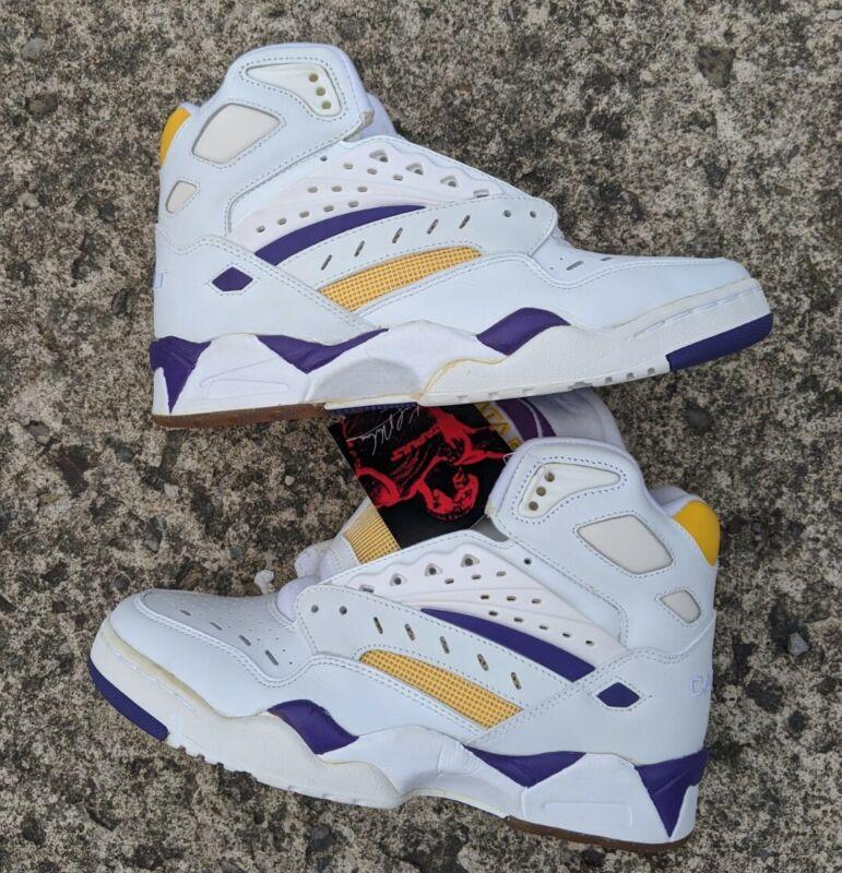 VTG rare 1991 LA Gear Karl Malone Mailman Catapult Basketball Shoes US 6 1/2 NEW