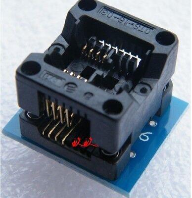 Soic8 Sop8 To Dip8 Ez Programmer Adapter Socket Converter Module With 150mil