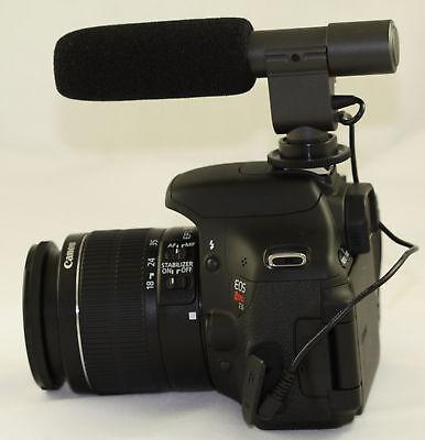 Stereo Microphone For Nikon D7500 D5500 D810 D3300 D5200 D600 D7200 D5600 D7100