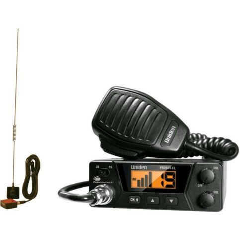 **40-Channels Bearcat Compact CB Radio and Tram 703-HC Anten