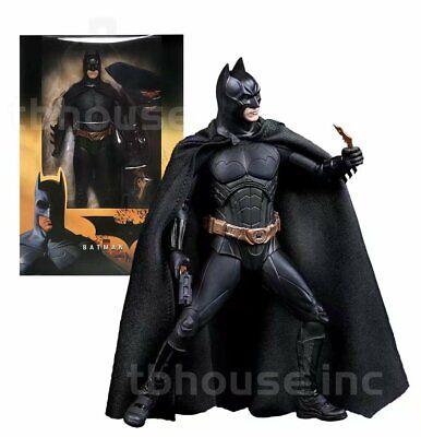 NECA DC Comic Batman Begins (Christian Bale) Action Figure New