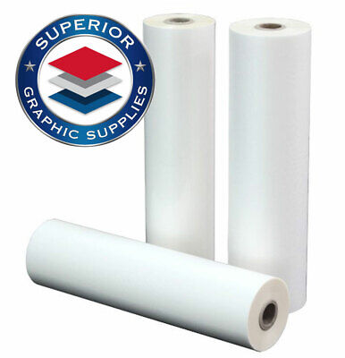 Pet School Laminating Film Roll - 1 Inch Core 0.0017 Clear Gloss 1 Roll Pack