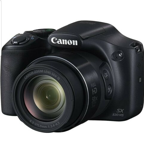 Canon PowerShot SX530 HS - 9779B001 - 16.0MP Digital Camera Black - NEW IN BOX - $200.00