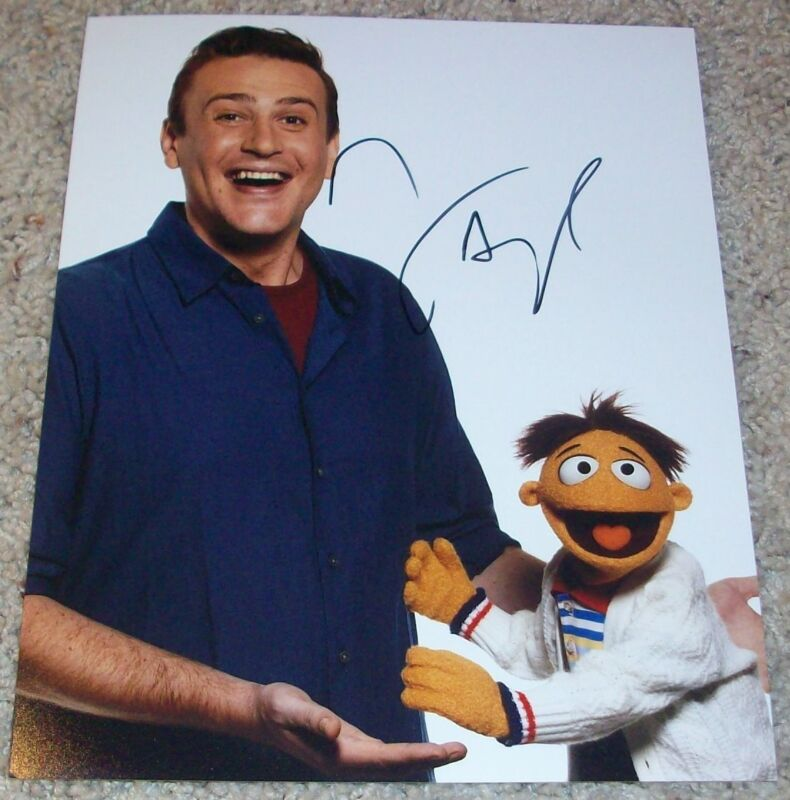 JASON SEGEL SIGNED AUTOGRAPH THE MUPPETS 8x10 PHOTO wPROOF HOW I MET YOUR MOTHER