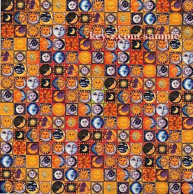 SUNS and MOONS BLOTTER ART  LSD Acid Art paper sheet tabs