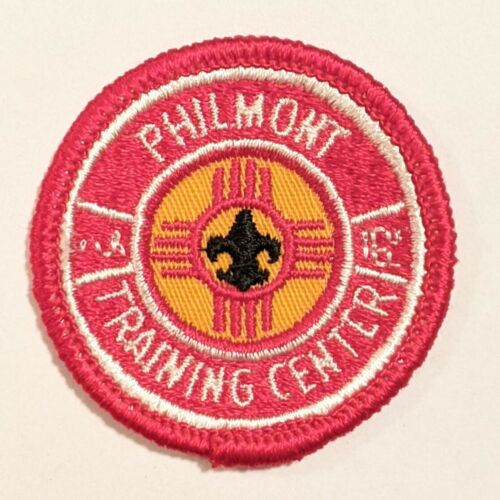 Philmont Scout Ranch Boy Scouts PTC Philmont Training Center patch 2in rolled