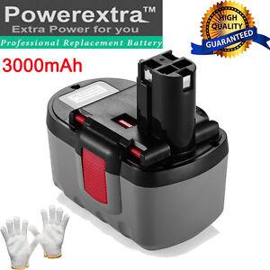 24V 3000mAh Ni-Cd Battery for Bosch BAT031 BAT030 BAT240 11524 1645 12524 13624