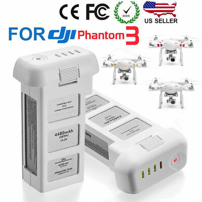 DJI Phantom 3 4500mAh  Advanced Standard Erudite LiPo Replacement Battery
