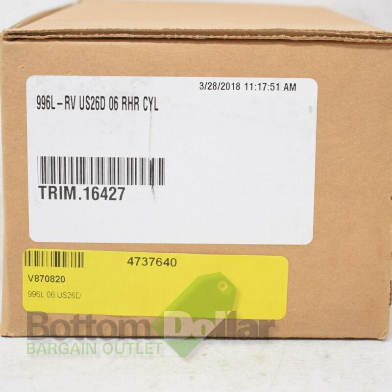 Von Duprin 996L-RV06 US26D 06 RHR Lever Trim Exit Device Satin Chrome