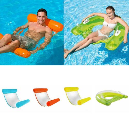 Wasserhängematte Wasserliege Wasser Luftmatratze Badematratze Wassermatratze DE