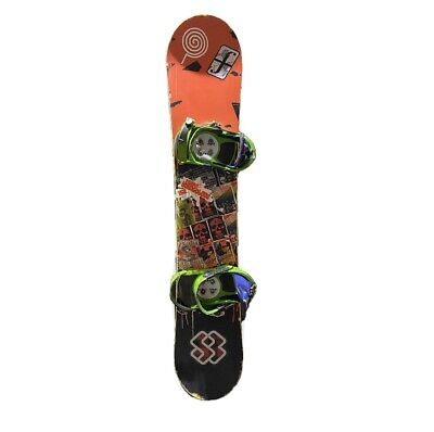 FORUM YoungBlood 152 cm Snowboard With Bindings Burton Case And Burton Boots