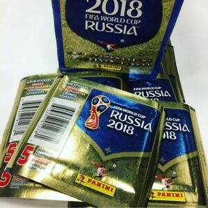 Panini FIFA World Cup Russia 2018 Sticker Album & Boxes