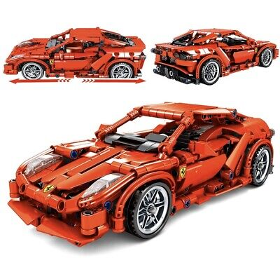 Ferrari 603 Piece Lego Sports Car Building Bricks