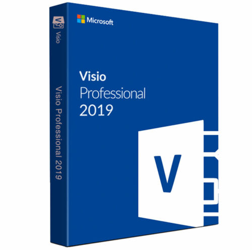 MS Visio Professional 2019 The Full Version  LifeTime Activated
