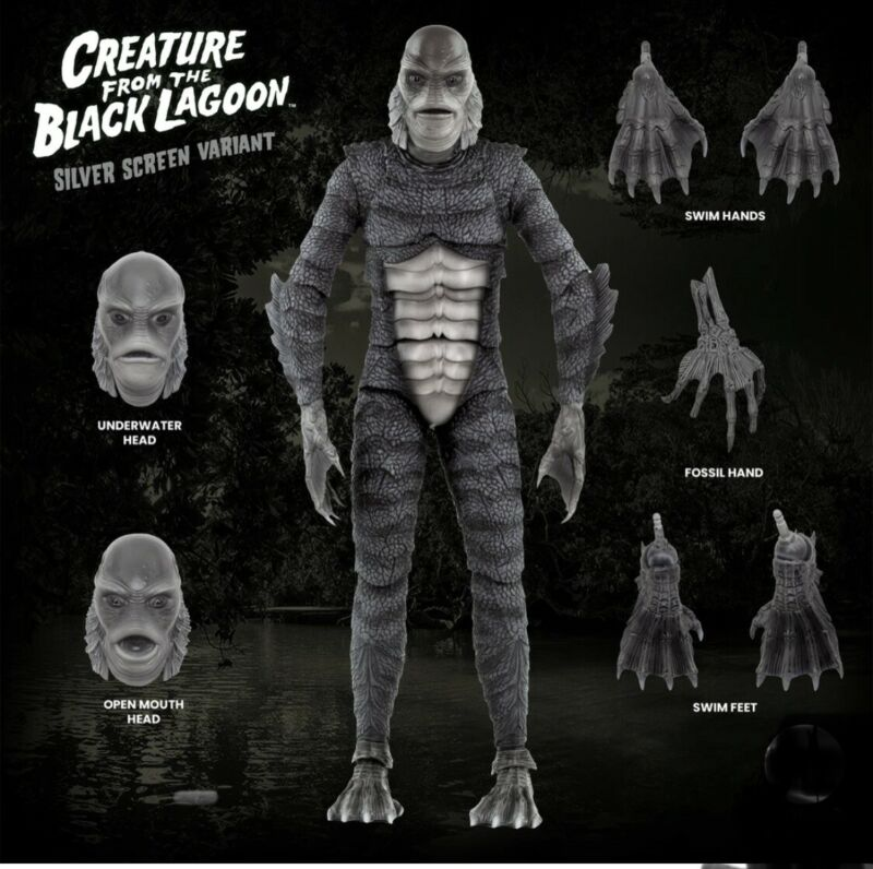 "2021 Preorder CREATURE FROM THE BLACK LAGOON 1/6 Scale 12"" Figure Not SIDESHOW"