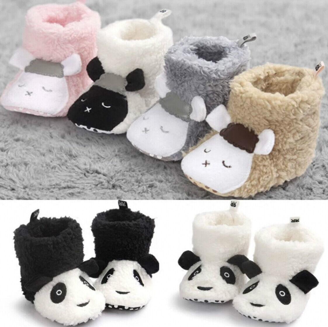 Newborn Baby Soft Sole Crib Shoes Infant Boy Girl Toddler No