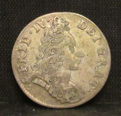 Denmark 1702 8 Skilling AU
