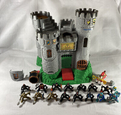 VTG Fisher Price 1994 Great Adventures Castle #7110 Dragon Tower Knights Lot