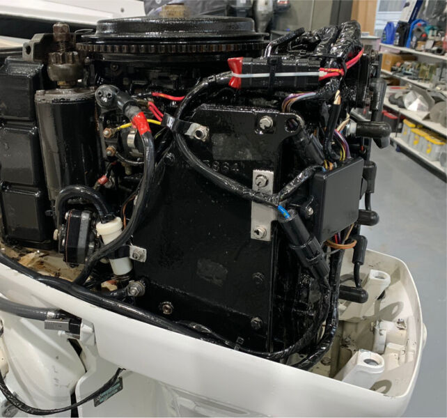 70 hp Johnson outboard motor (freight Australia wide)   Boat