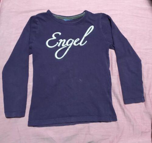Engel Topolino Shirt T-Shirt Mädchen Kinder Sport Pulli Bluse Große 122 Lila