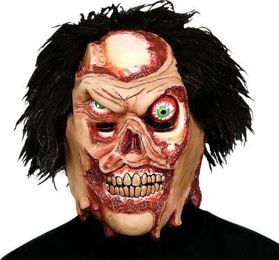 Morris Costumes Horror Halloween Vinyl Skinner Fractured Faces Mask. (Fractured Faces)