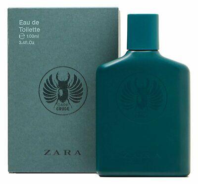 Brand New! ZARA DARK CRUDE 100ML 3.4 Oz. EAU DE TOILETTE FOR MEN EDT