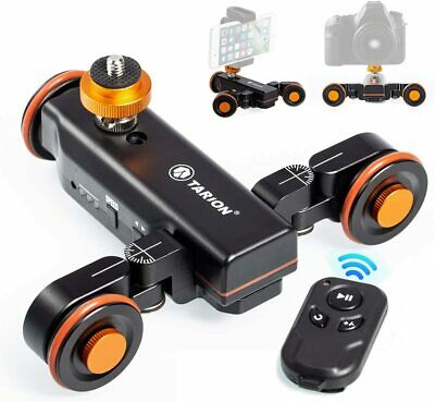 TARION Y5D Autodolly Electric Slider Motorized Pulley Car Cine Dollies Rolling S