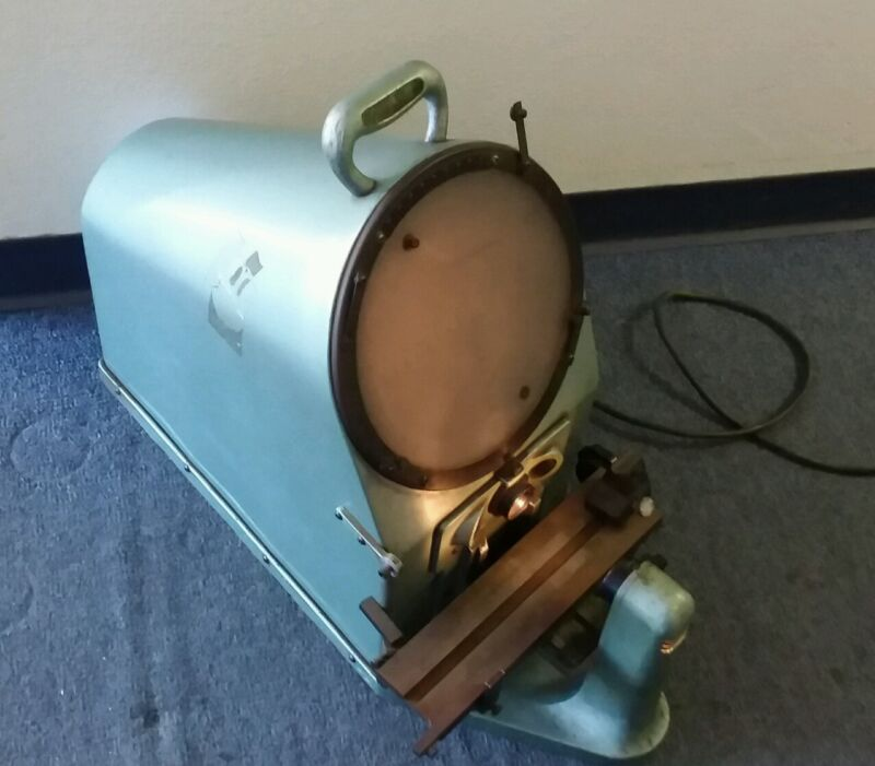 "10""  RANKIN BROTHERS Bench Top Optical Comparator Model 1000-10X"