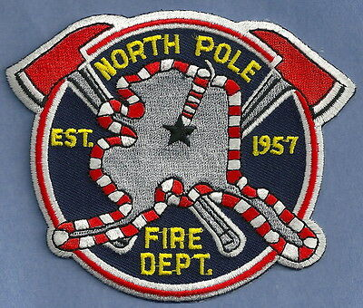 NORTH POLE ALASKA FIRE DEPARTMENT PATCH