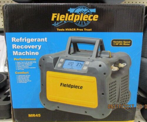 FIELDPIECE DIGITAL RECOVERY MACHINE MR45