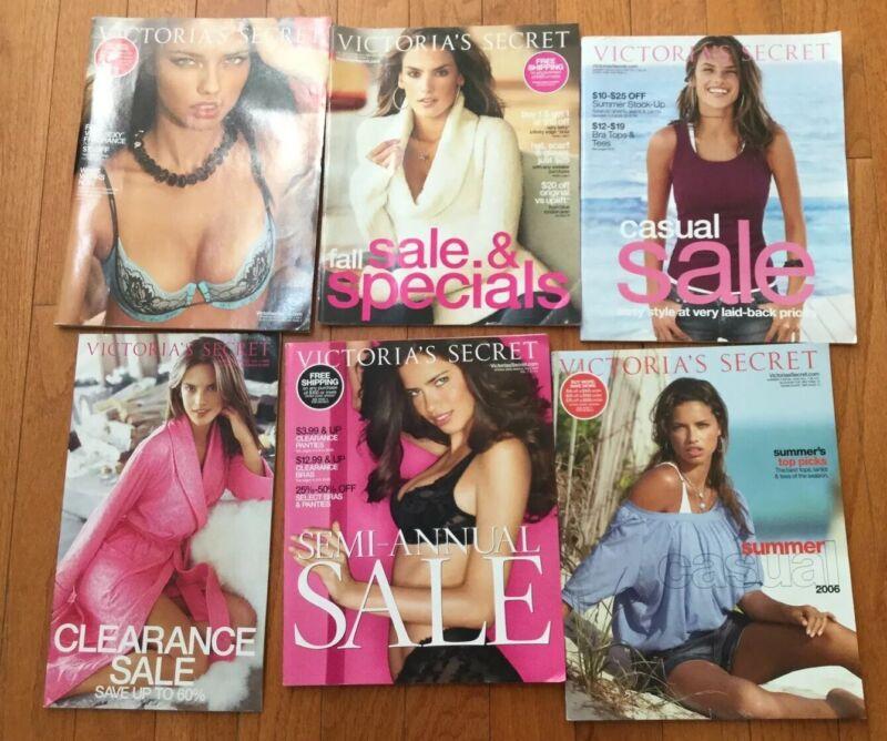 ~ NEW Lot Of Vintage Victoria's Secret Catalogs 2006 Alessandra Ambrosio Adriana