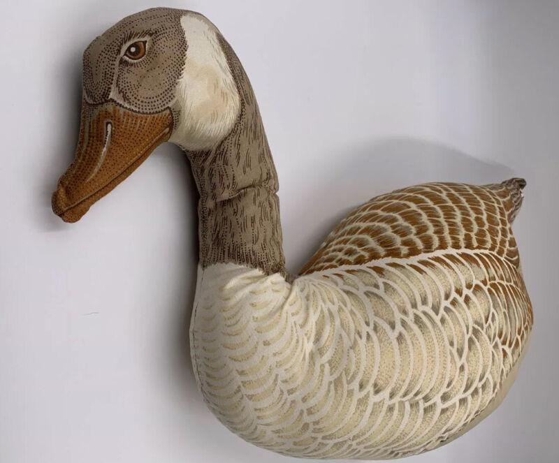 Vintage Canada Goose Plush Stuffed Pillow