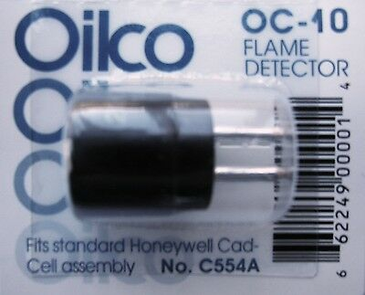 OIL BURNER CAD CELL EYE, ALL makes WITH 2 pins Honeywell Westwood Crown Sid C554