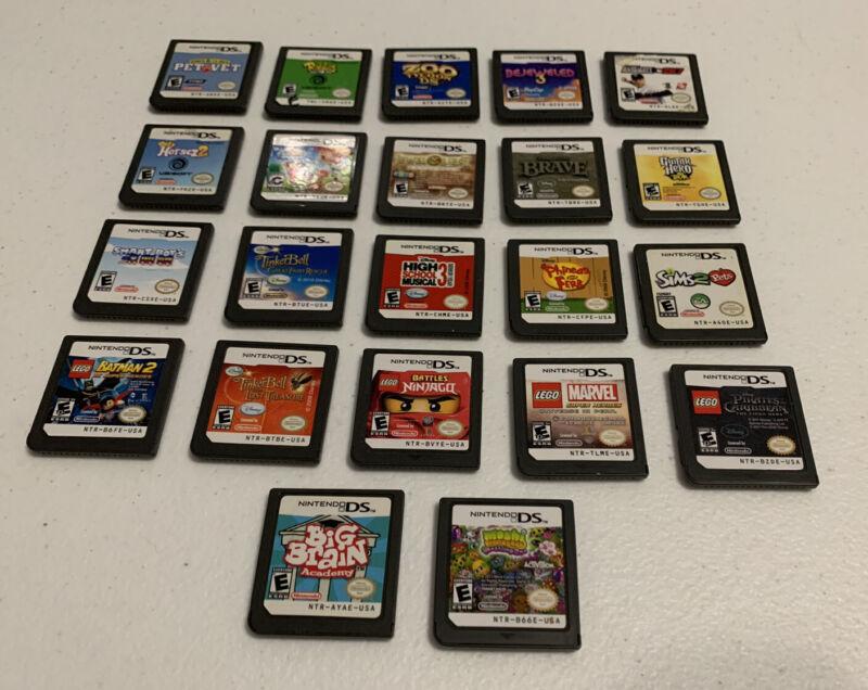 Lot of 22 Nintendo DS Games
