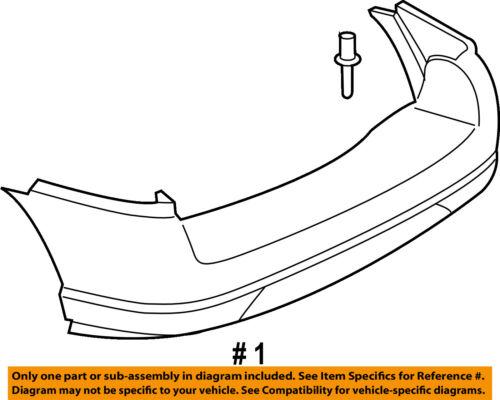 Buick GM OEM 02-07 Rendezvous Rear Bumper-Stud Plate 11518801