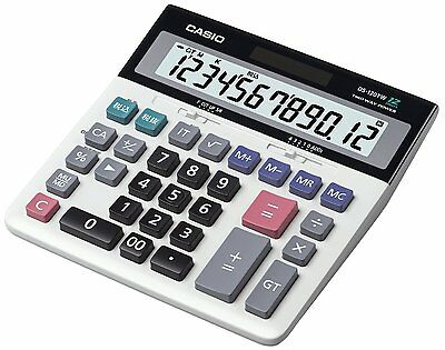 New! Casio Desk Calculator Type DS-120TW from Japan Import!