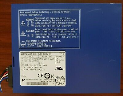 Yaskawa SGD02AS Industrial Control System for sale online
