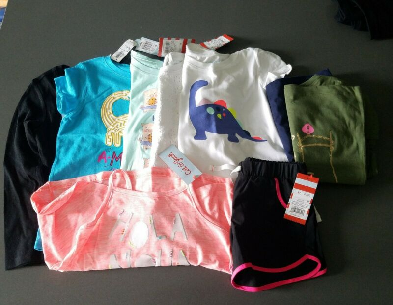 Girls NEW Clothes Size 5T LOT T Shirts
