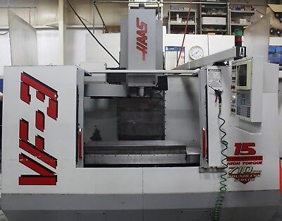 Haas Vf-3 Cnc Vertical Machining Center 2-speed Gearbox New Spindle