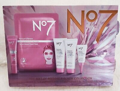 No7 The Best of Restore & Renew Collection Limited Edition serum day nigh