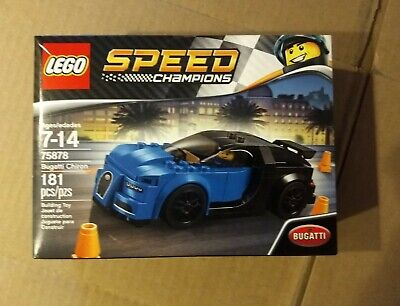 LEGO Speed Champions 75878 Bugatti Chiron Retired Set Brand New In Sealed Box